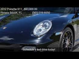 porsche 911 turbo awd 2012 porsche 911 turbo s awd 2dr coupe for sale in riviera b
