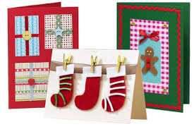 make your own christmas cards home dzine craft ideas make your own christmas cards