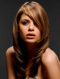 shoulder length haircuts without bangs medium long hairstyles no