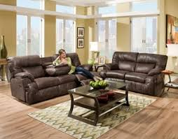 Blue Reclining Sofa by Blue Sofas And Sectionals