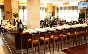 modern mediterranean interior design of salute restaurant at