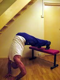 start bodyweight training handstand push up progression