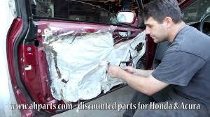 1999 honda civic window motor how to fix replace install a broken power window regulator motor