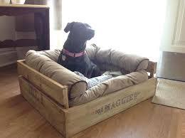 diy canapé canape pour chien pas cher niche chien palette diy pour labrador