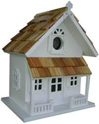 amazon com home bazaar hand made chalet bird house bird