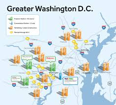 Dc Metro Station Map by First Evgo Fast Charging Station Opens In Dc U2013 Be Car Chic