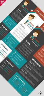 creative resume templates free download psd design logo 4 download free designer resume template psd psddaddy com