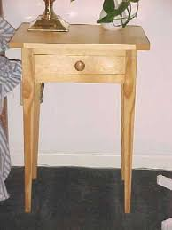 shaker style side table shaker style pine side tables