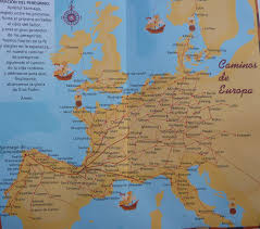 Camino Frances Map El Camino Santiago Or The Way Of St James Spain Trails Travels