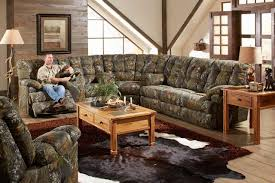 Rustic Sectional Sofas Tips Camo Sectional Couches Mossy Oak Furniture Camouflage