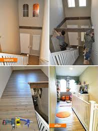 Staircase Ideas For Small House Insanely Clever Use Of A Dead Space Above A Staircase Amazing