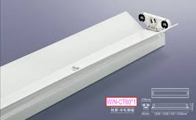 t8 slim fluorescent lamp fixture led light fixture