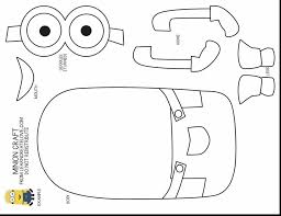 minion halloween coloring pages print minions