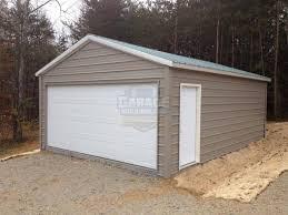 Single Car Garage Metal Garage And Workshop Photo Gallery Garage Buildings