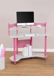 Corner Studio Desk Studio Designs Calico Study Corner Desk Pink