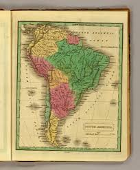 south america map buy south america david rumsey historical map collection
