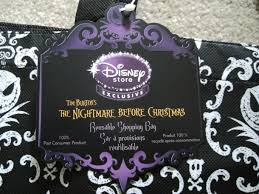 my disney mania nightmare before shopping bags