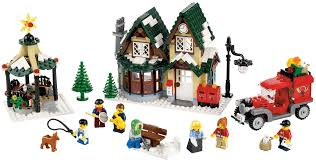 Lego Office Lego Seasonal 10222 U2013 Winter Village Post Office I Brick City