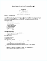 Example Sales Resumes by Retail Sales Resume Free Resume Example And Writing Download