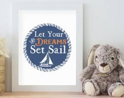 Nautical Themed Baby Rooms - nautical baby room etsy