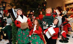 christmas carolers byers choice crafting christmas carolers american profile