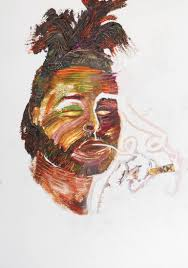saatchi art the weeknd painting by mh sarkis