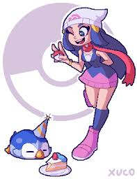 pokemon dawn piplup coloring images pokemon images