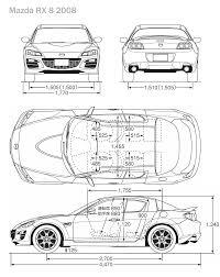 mazda rx 8 2008 blueprint download free blueprint for 3d modeling