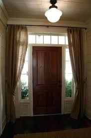 front doors front door door design how to put curtains on front