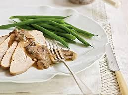 turkey mushroom gravy recipe just roast turkey recipes breast leg u0026 thigh recipes cooking light