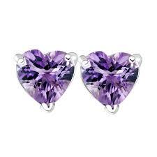 amethyst stud earrings fashion jewelry online fashion jewelry store designer costume