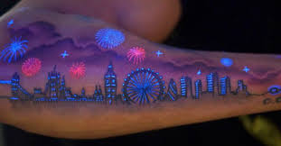 30 glow in the dark tattoos that u0027ll make you turn out the lights