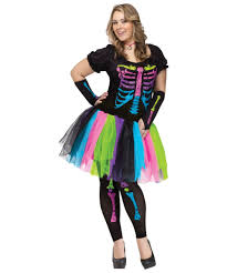 plus size womens costumes funky bones costume women costumes