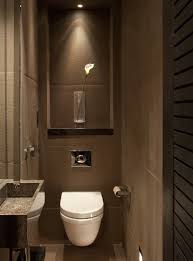 guest bathroom design masculine guest bathroom design ideas with brown color and modern