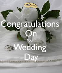 congratulations on your wedding day 5 6 17 donuts and wedding bells and birthday cake