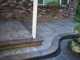 Pictures Of Stamped Concrete Walkways by Gs Flatwork Llc Decorative Concrete Porches