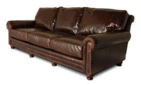 Big Leather Sofas Leather Furniture For The Big Atlanta Chicago
