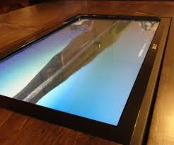 coffee table with built in touch screen 7 steps
