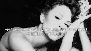 mariah carey music box merry christmas album whistle compilation