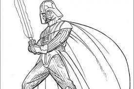 Coloriage STAR WARS Coloriage STAR WARS dAnakin Skywalker
