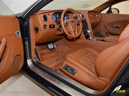 bentley orange interior dark bourbon interior 2012 bentley continental gt mulliner photo