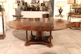 Round Dining Sets For 8 Dining Table 90 Round Mahogany Radial Dining Table With Jupe