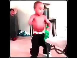Grown Baby Meme - young black child thuggishly states i m da daddy i m grown youtube