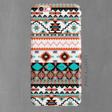 tribal aztec design phone white tpu arla laserworks