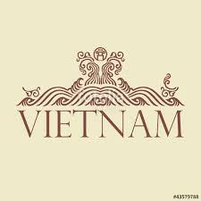 traditional design vietnam vintage traditional design decorative art stock image and
