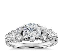 Garland by Monique Lhuillier Petal Garland Diamond Engagement Ring In