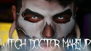 witch doctor halloween makeup tutorial jordan hanz 31 days of