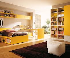 formidable wardrobes and yellow color teen bedroom for combination
