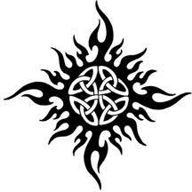 celtic knot sun by florescentmoon on deviantart ink