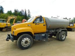 truck gmc 1998 gmc topkick c7500 water truck for sale 15 000 miles